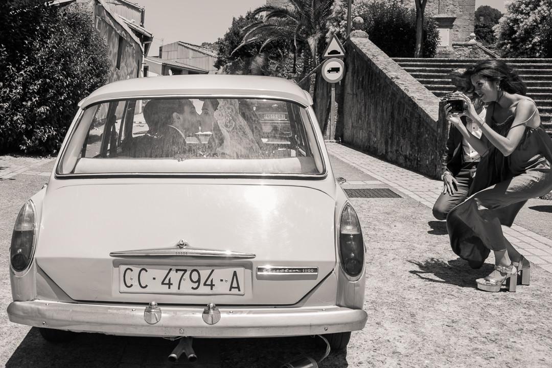 Boda Dani y Mercedes Baños de Montemayor Extremadura  BN  MIRAMEQUETEVEO -