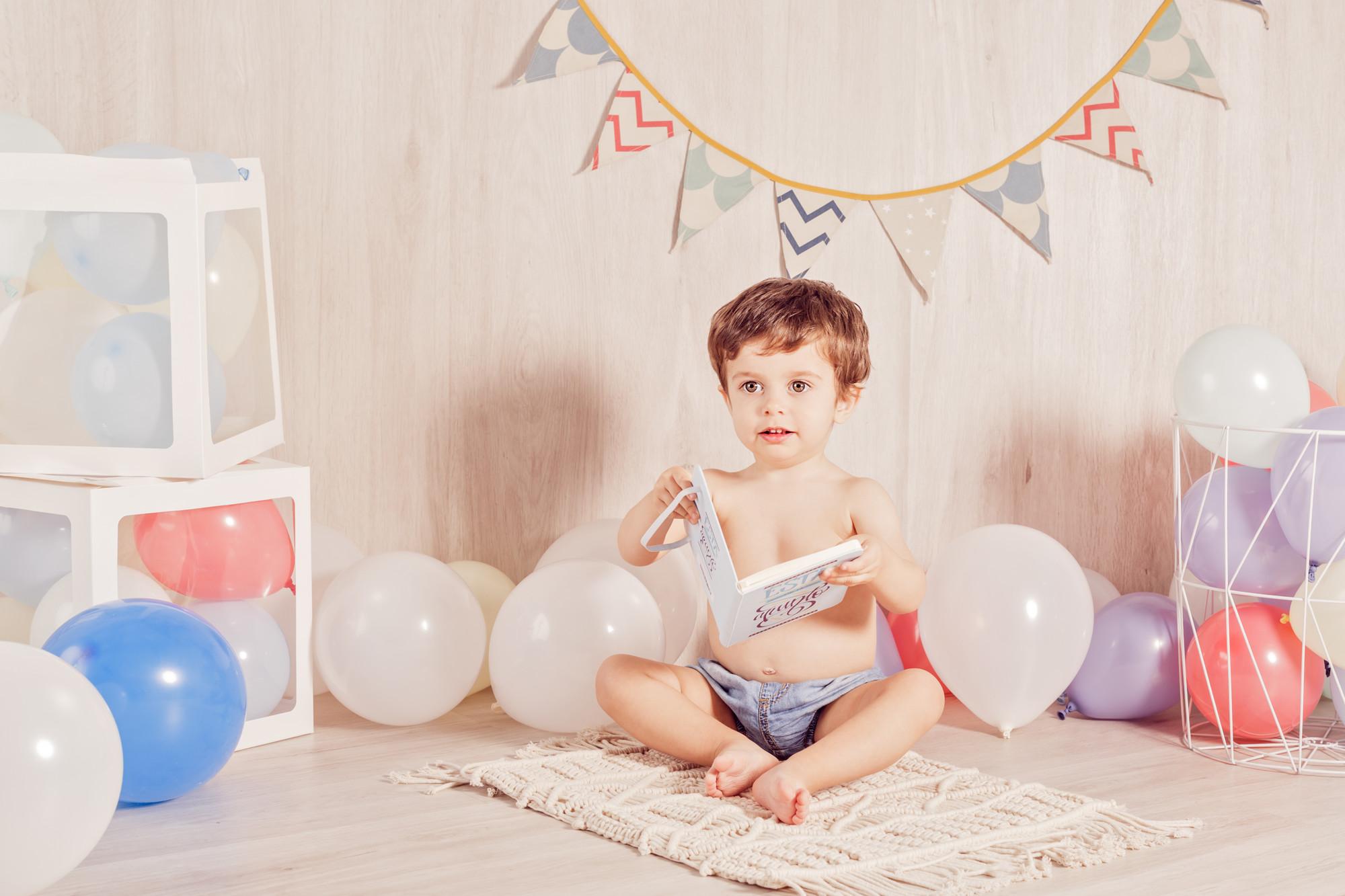 Fotografia Infantil, Cumpleaños de Jorge